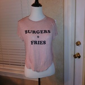 DIVIDED Burgers and Fries Top size S